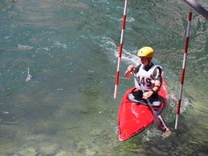 1. Rang C1 Slalom Jugend
